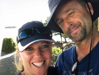 Crew of sv Sea Odyssey, Matt and Emily