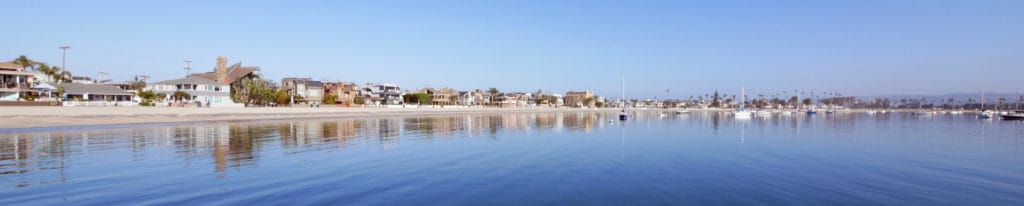 Mission Bay panoramic from the boat