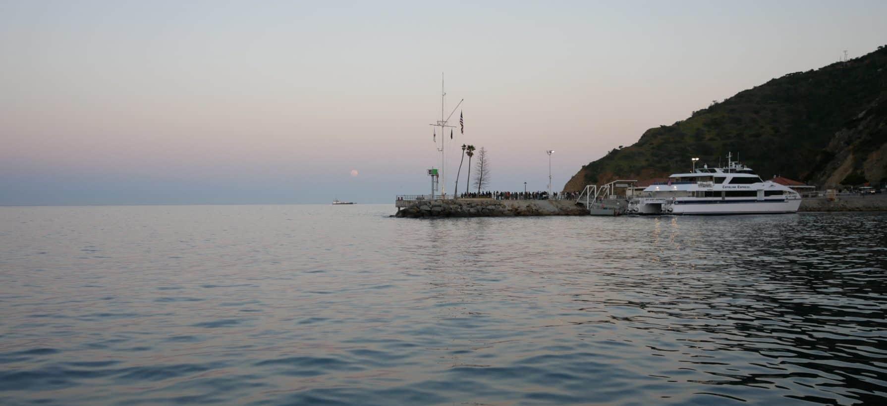 Avalon Ferry on Catalina Islands, California