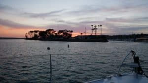 Sunset at Dana Point, California