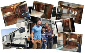 Fifth wheel collage
