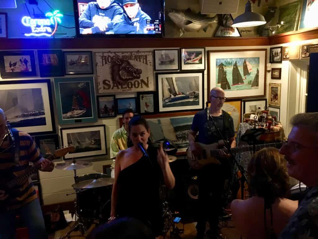 Band at the Boatyard in Annapolis