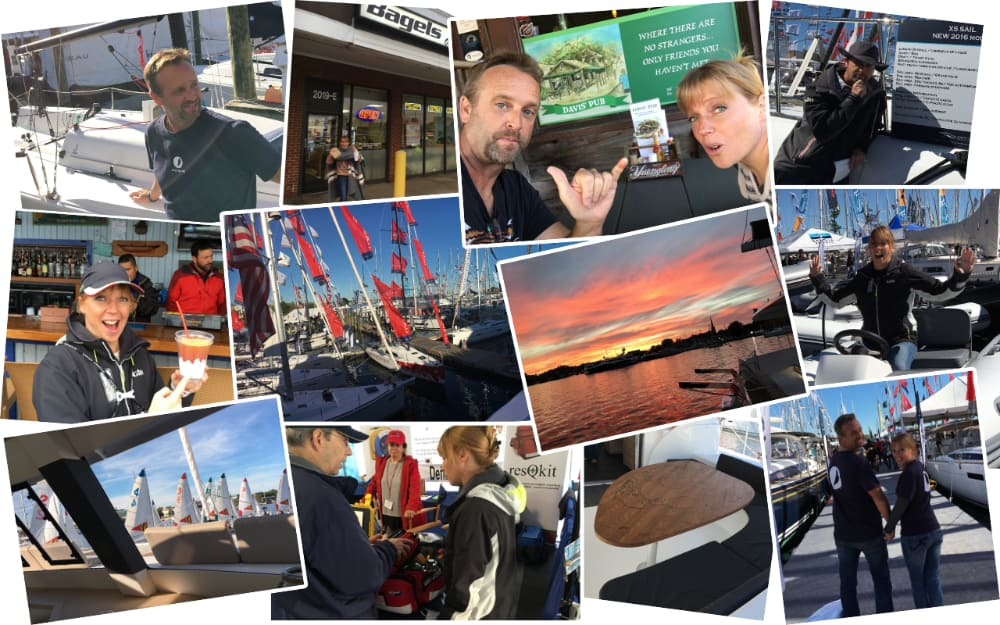 Ann Boat Show Collage