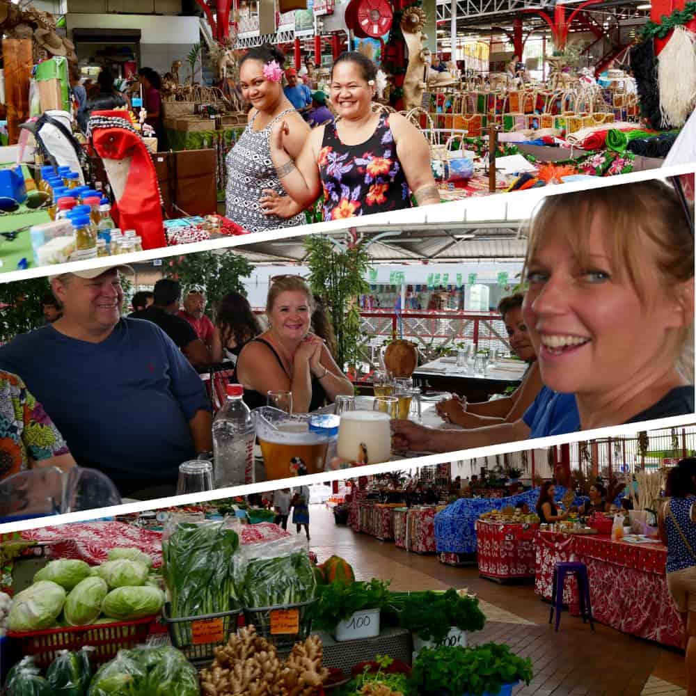 Fresh Market in Tahiti