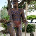 Tall Moorean statue