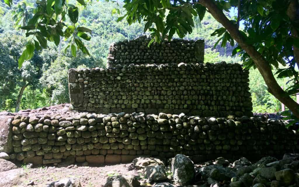 Sacred Lands Monument Tahiti