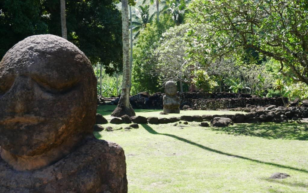 Two Tikis in Tahiti