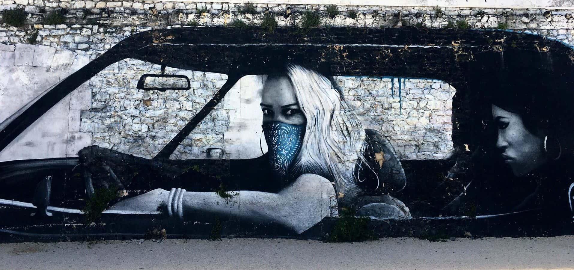 graffiti in La Rochelle