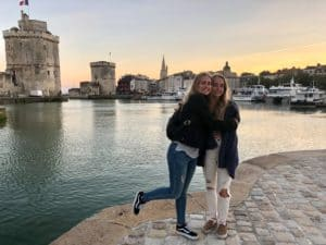 Payton and Sydney in La Rochelle