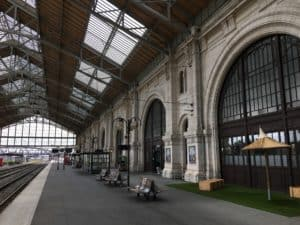 Train station in La Rochelle