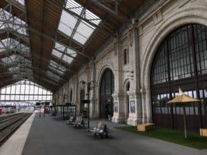 Train station in La Rochelle