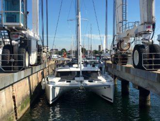 Sea Odyssey getting splashed