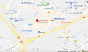 Map of La Rochelle