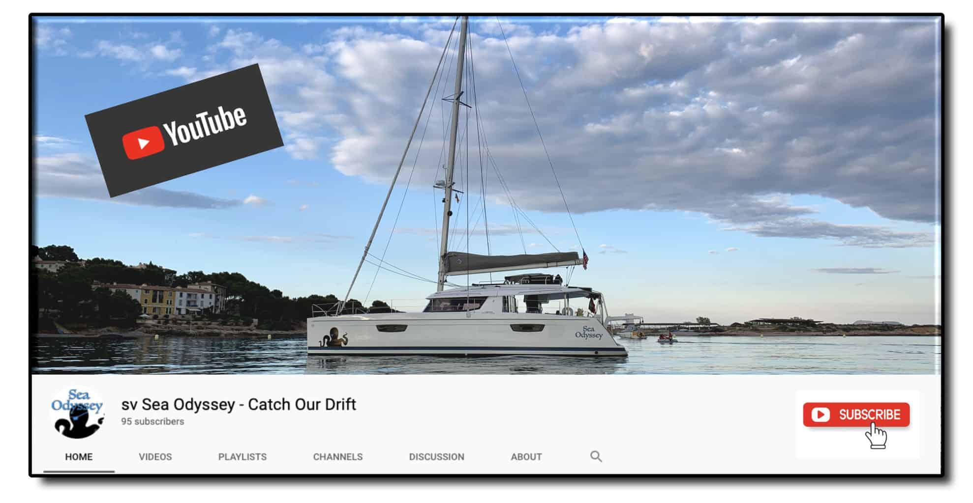 Sea Odyssey YouTube blog image