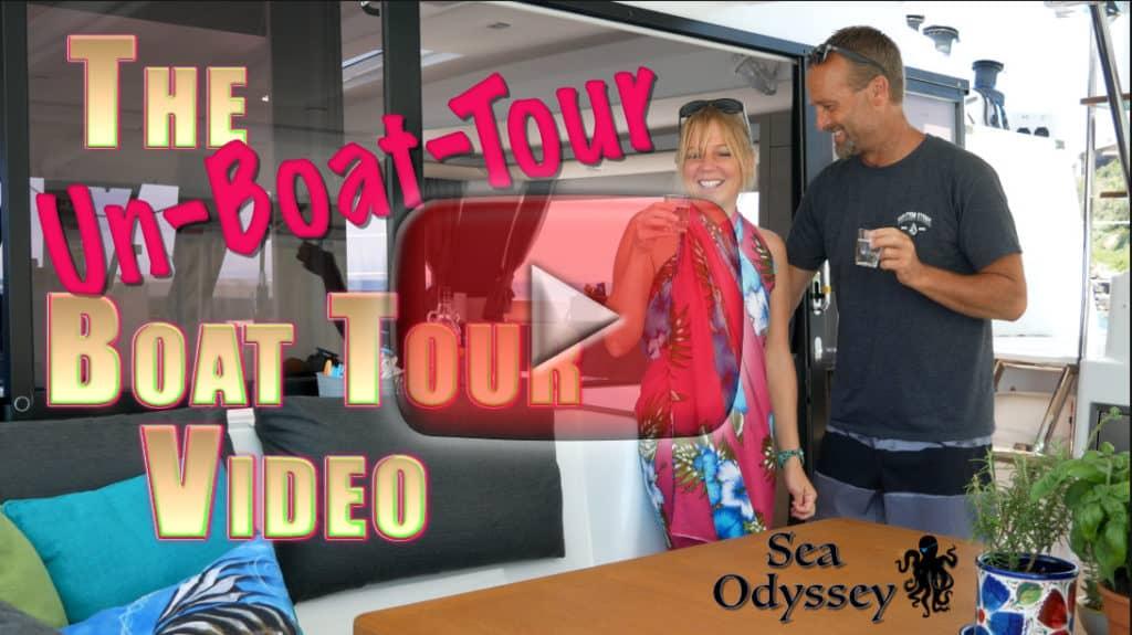 sv Sea Odyssey boat tour title