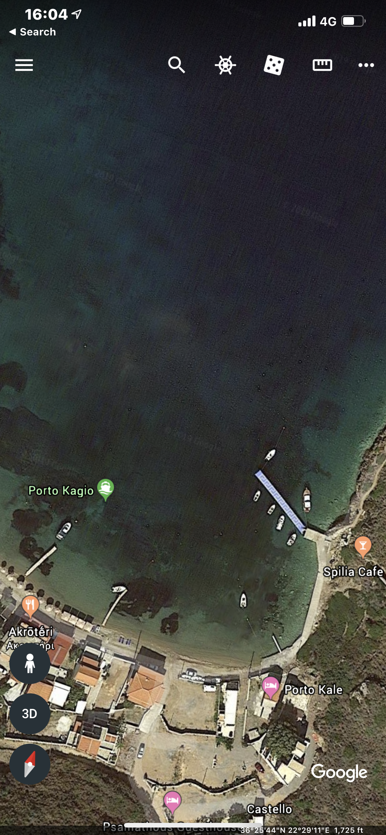 Google Earth image of Laconia