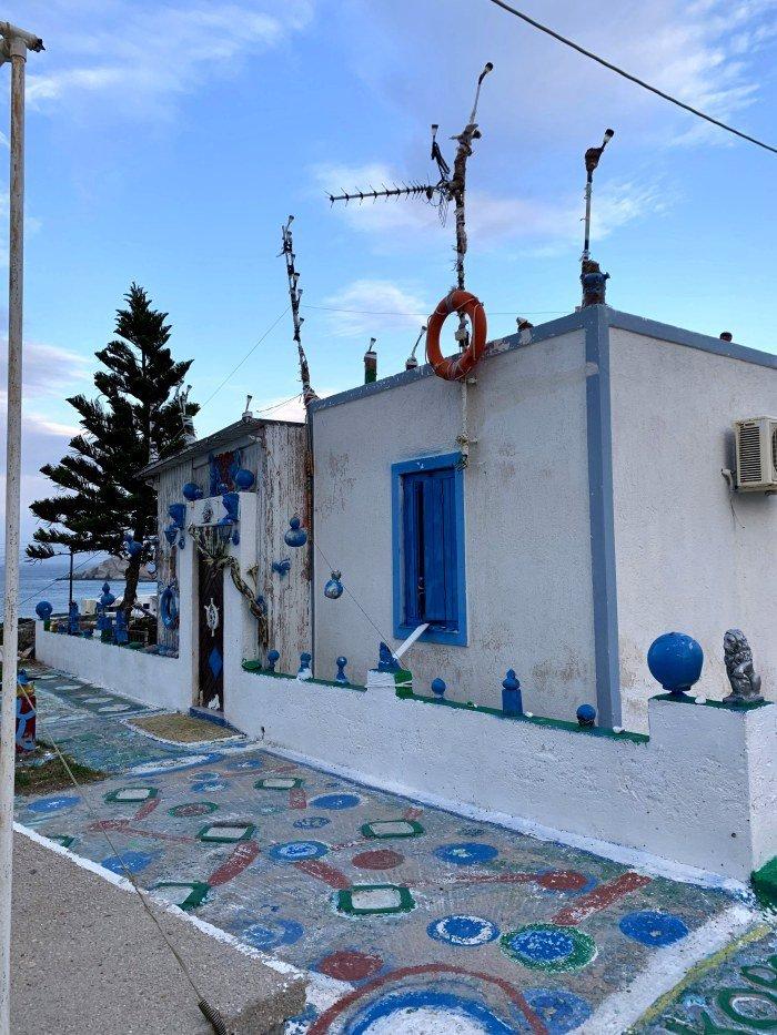 House in Milos
