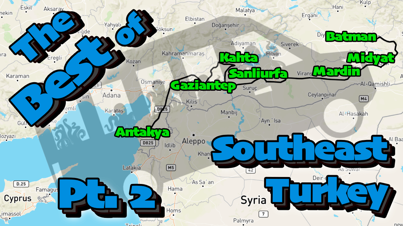 Youtube video thumbnail southeast turkey