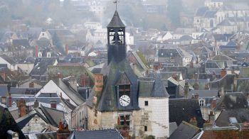 Amboise clock tower