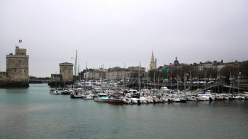 La Rochelle Marina at high tide