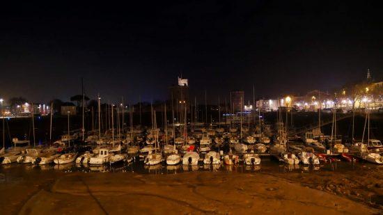 La Rochelle Marina at low tide