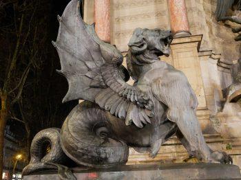 Paris, Fontaine St Michel