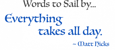 Words to sail by